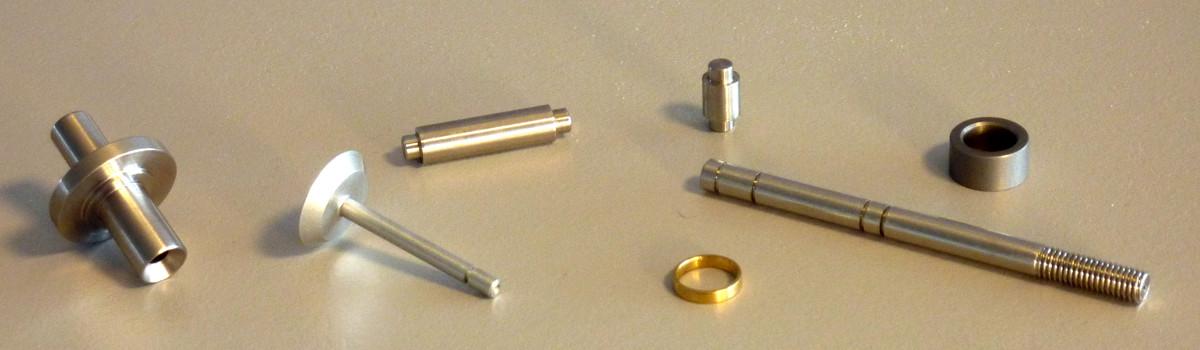 Metallteile aus Indien